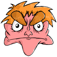 Updated Angry Face by IHEOfficial