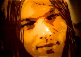 David Gilmour by Layer-tape