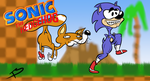 Sonic the Hedgehog title card by Tricycloplots