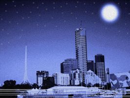 Melbourne Nights by CuteLittleTheatreKid