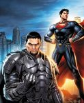 Man of Steel: Friends/Foes by JPRart