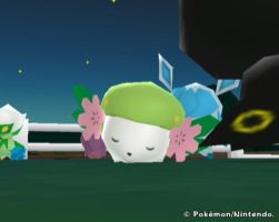 Shaymin Sleeping In MPR by RandomDeviant12