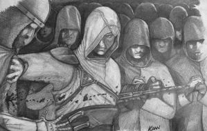 assassins creed draw by sanatist