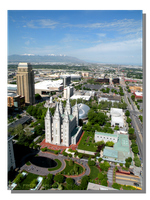 Salt Lake City - Temple Square by WillFactorMedia