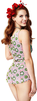 Lana Del Rey PNG Render by classicluv