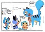 Pinwheel Family Design Sheet by Pocketowl