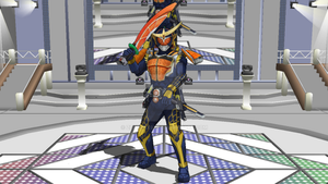 MMD NC - Kamen Rider Gaim Orange Arms (OFFICIAL) by Zeltrax987