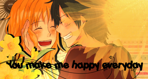 You make me happy everyday .:luna:. by Smile-smiley