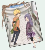 birthday gift - naruhina. by tenjii