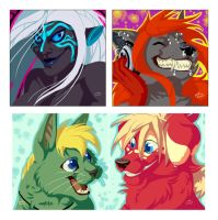 Icon commissions by Hukkanaama