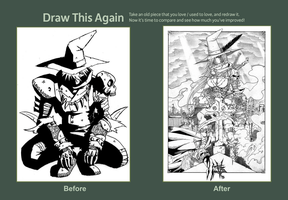 Draw This Again: The Scarecrows (2008-2012) by TravTheMad