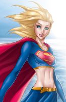 Supergirl by Michael Turner by tony058