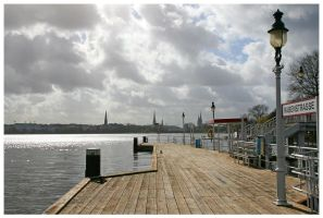 Hamburg Postcards by SeaWhisper