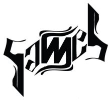 Ambigram - Sameh by bigforrap