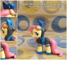 ''Magic Duel'' Fluttershy custom by Antych