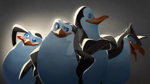 penguins of madagascar by Shira-hedgie