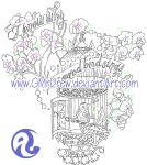 SweetPea HummingBirdCage by GMrDrew