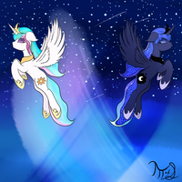 Galaxies by MoonOfSouls