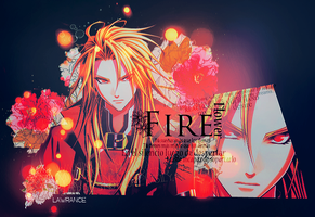 Fire flower[?] by MChiaki