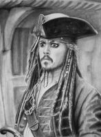 Jack Sparrow by DoubleCatrin