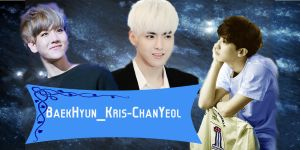 EXO ChanBaekRis exclusive edition Chrome theme by Yilong-susica