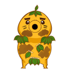 Deku scrub goron by BlueBubble-L
