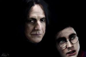 I trust you - Harry and Snape by neko----chan