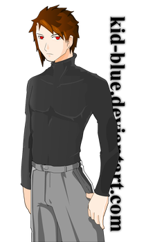 VN char male1 demo by kid-blue