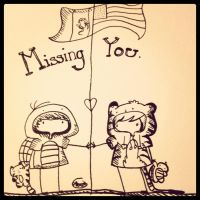 Missing you by AGraphicGeek