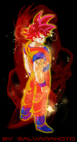 SUPER SAIYAN GOD by salvamakoto