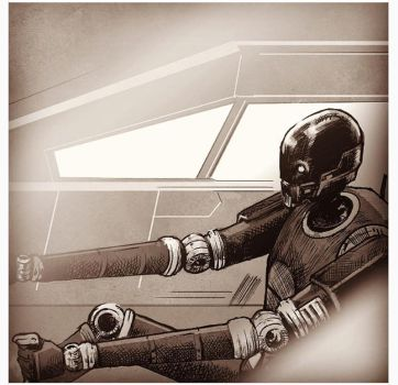 Rogue One: K-2SO by Santini