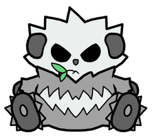 Pangoro Pokedoll Art by methuselah-alchemist