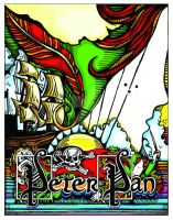 Peter Pan Play Poster by spookyspittle