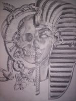 EGYPTIAN DEATH W.I.P. by photosynthesist