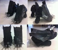 Metal Gear Rising Raiden Shoes by keruuu