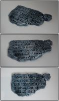 Ancient tablet by Pharaoh-Hamenthotep