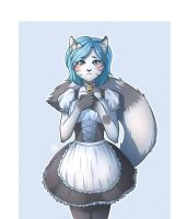 request (kitty-maid) by kos-tyan