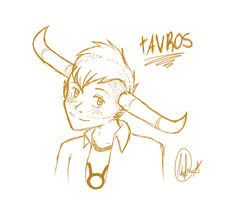 tAVROS by Blue-eyed-Raccoon