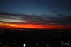 Sunset Signal Hill4 by ica-designs