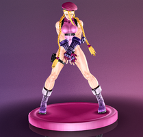 Cammy White - Killer Figurine - 03 by HentaiAhegaoLover
