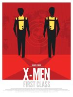 X-Men First Class Alternative Poster Art by davewi11