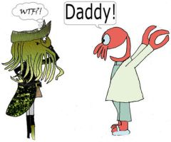 Davy Jones and Doctor Zoidberg by HCShannon