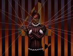 Harlequin no4 (The Puppeteer) by Eroha