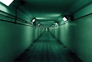 Underground Tunnel by earcaraxe