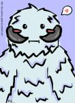Kawaii Wampa by aku-demmy-glomp