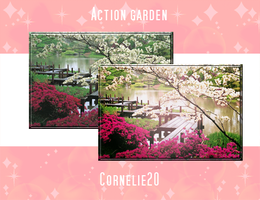 Garden action by Cornelie20