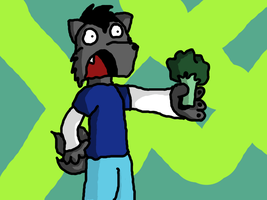 HOLY CRAP ITS A BROCCOLI by Andy23497