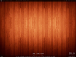 Wooden floor September desktop by sebick