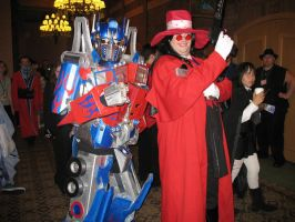 optimus prime cosplay by TIMECON