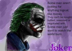 Joker painting by jokercrazy
